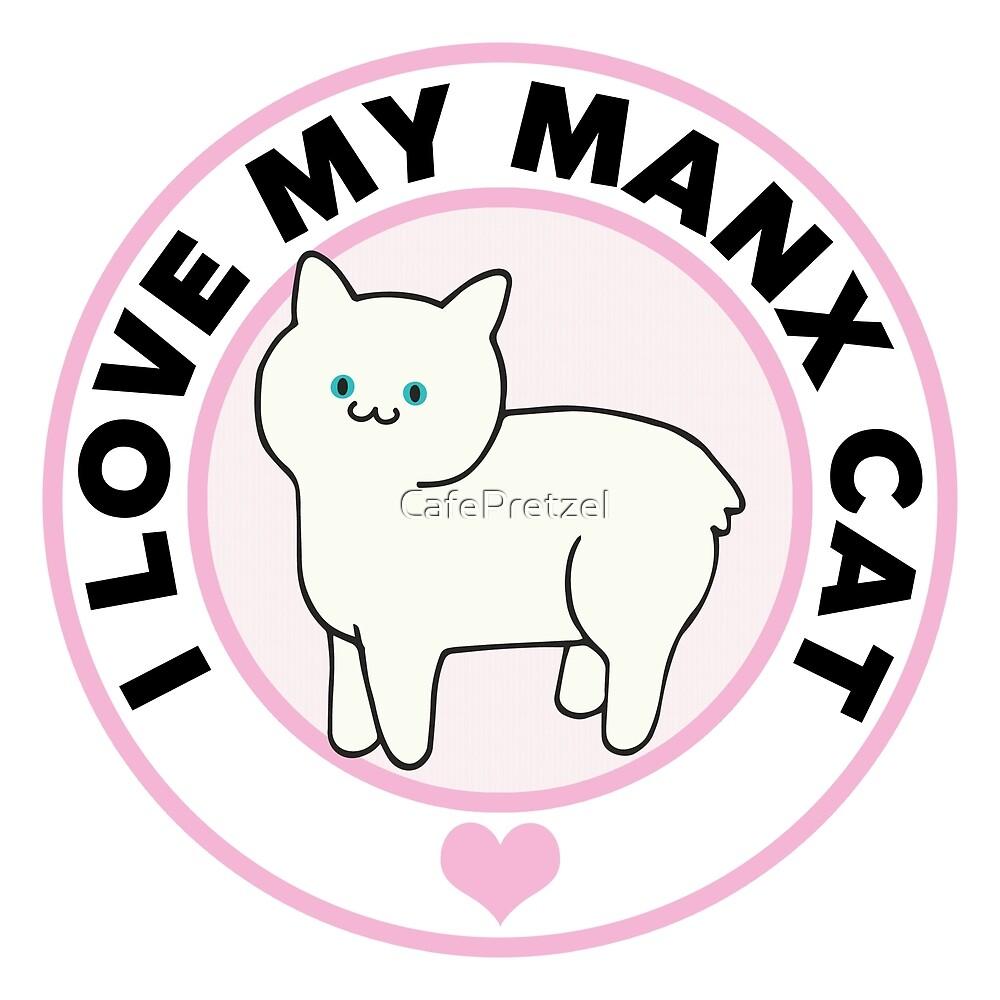 Manx Cat Lover T-Shirts by CafePretzel