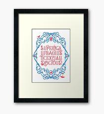 Whimsical Poppins! Framed Print