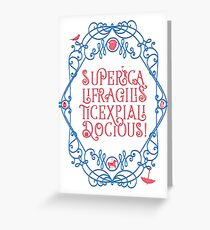 Whimsical Poppins! Greeting Card