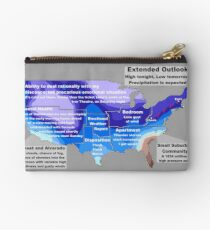 Emotional Weather Report Studio Pouch