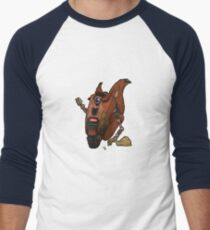 CL4P-TP gone nuts (tee) Men's Baseball ¾ T-Shirt