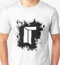 Titan Splat - Black Unisex T-Shirt