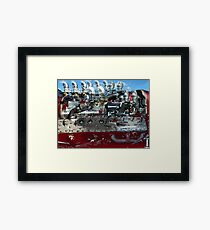 Speed Equipment Framed Print