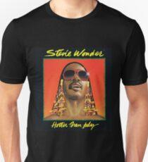 Hotter Than July by Stevie Wonder Unisex T-Shirt