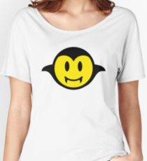 Vampire / Dracula Smiley Women's Relaxed Fit T-Shirt