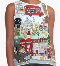 Queen's London Day Out Contrast Tank