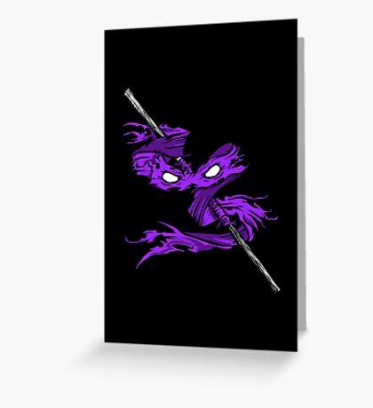 Violet Vengeance Greeting Card