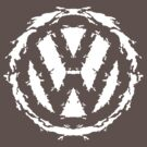 Volksbloten (white) by MightyRain