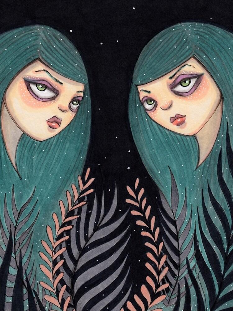 The Twins by tiffanydow