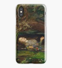 John Everett Millais - Ophelia.  iPhone Case/Skin
