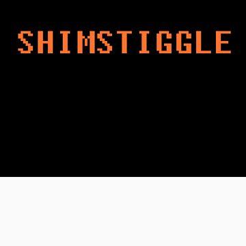 Shimstiggle Merch Hoodie by shimstiggle
