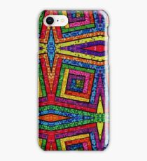 Psychedelic Abstract Colourful 215 iPhone Case/Skin