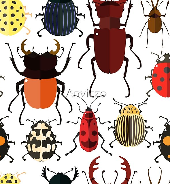 Cute Bugs by Anviczo