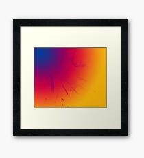Colour Blend Framed Print