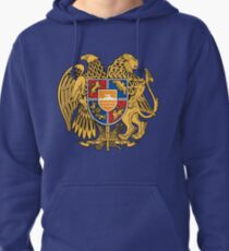 Armenia Coats of Arms Pullover Hoodie