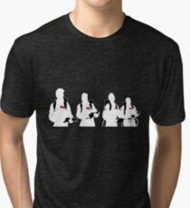 The Showdown (Dark version) Tri-blend T-Shirt