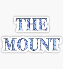 Mount Saint Mary's University Sticker