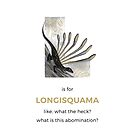 L is for Longisquama by Franz Anthony