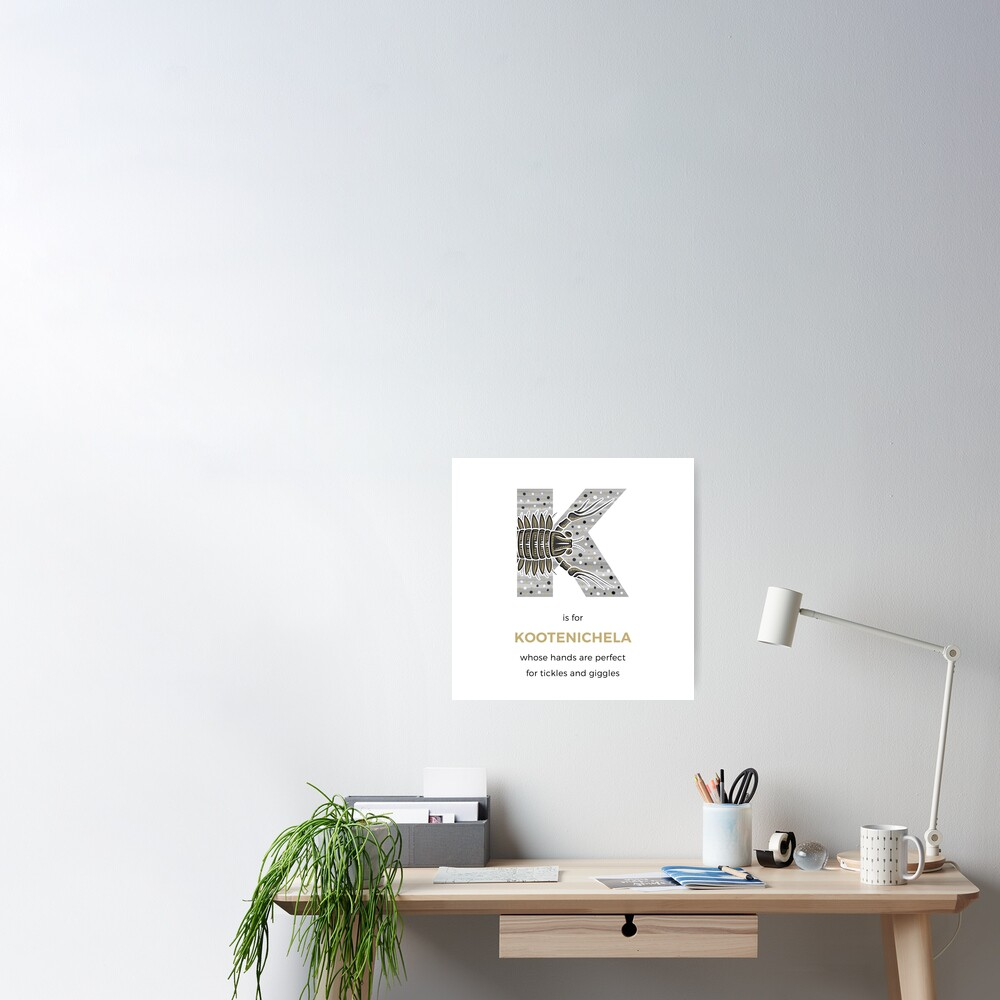 K is for Kootenichela Poster