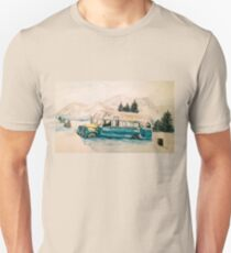Into the Wild Magic Bus Painting Unisex T-Shirt