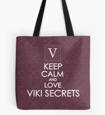 Love Viki Secrets Tote Bag