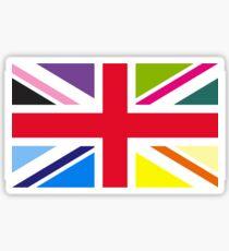 Union Jack (Multi Coloured) Sticker