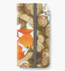 Foxes  iPhone Wallet