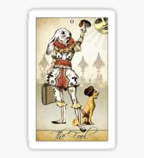 The Major Arcana - The Fool Sticker