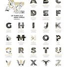A-Z of Funny Old Dead Things by Franz Anthony