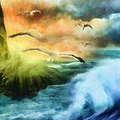 Seagull Fantasy Flight by Delights