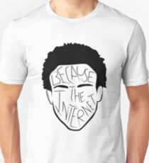 Because The Internet - Black Unisex T-Shirt