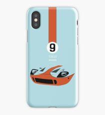1968 Race Winning #9 Racecar iPhone Case