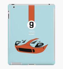 1968 Race Winning #9 Racecar iPad Case/Skin