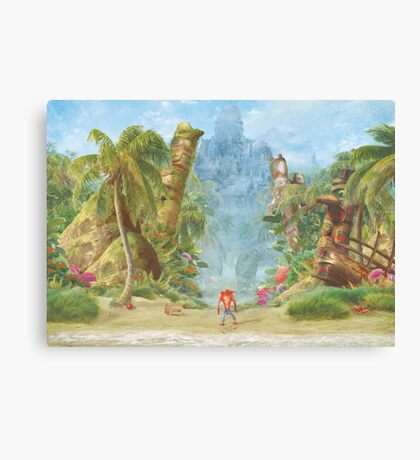 Sanity Beach (20 left!) Canvas Print