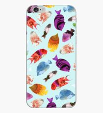Fish shaped Flowers iPhone Case