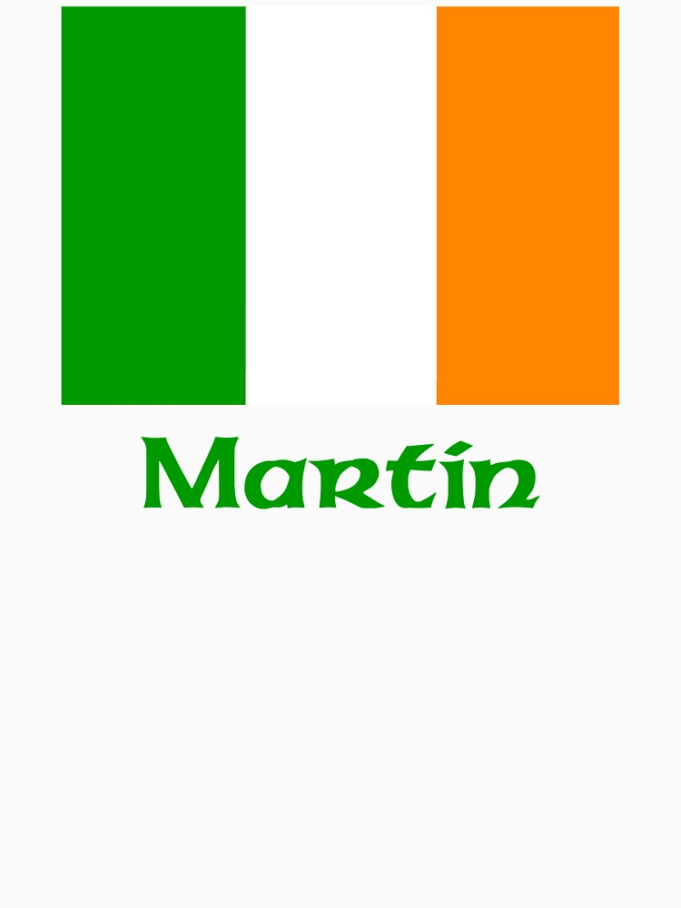 Martin Irish Flag by IrishArms
