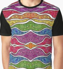Psychedelic Abstract colourful work 222 Graphic T-Shirt