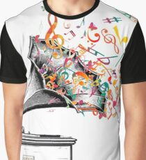Music for my ears retro style Graphic T-Shirt