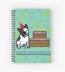 Birthday Doggie Spiral Notebook
