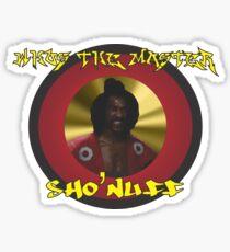 The Last Dragon Sho' Nuff  Sticker