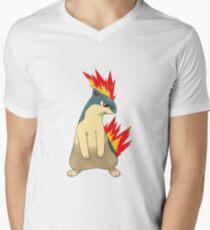 Quilava Men's V-Neck T-Shirt