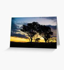 Uralla Sunset Greeting Card