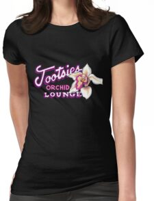 Tootsies Orchid Lounge Womens Fitted T-Shirt