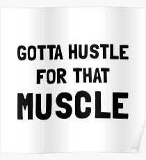 Hustle For Muscle Poster