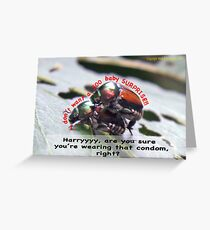 Ms. Bug doesn't want babies for a big surprise! Greeting Card
