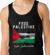 Vintage Free Palestine T shirts & Gifts Men's Tank Top