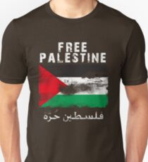 Vintage Free Palestine T shirts & Gifts Slim Fit T-Shirt