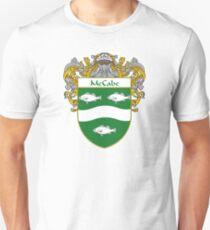 McCabe Coat of Arms/Family Crest Unisex T-Shirt