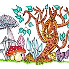 Freaky fungus forest by cuprum
