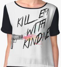 Kill em with kindness - Selena Gomez Women's Chiffon Top